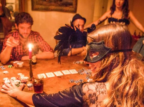 Raunchy Poker Night, Barcelona