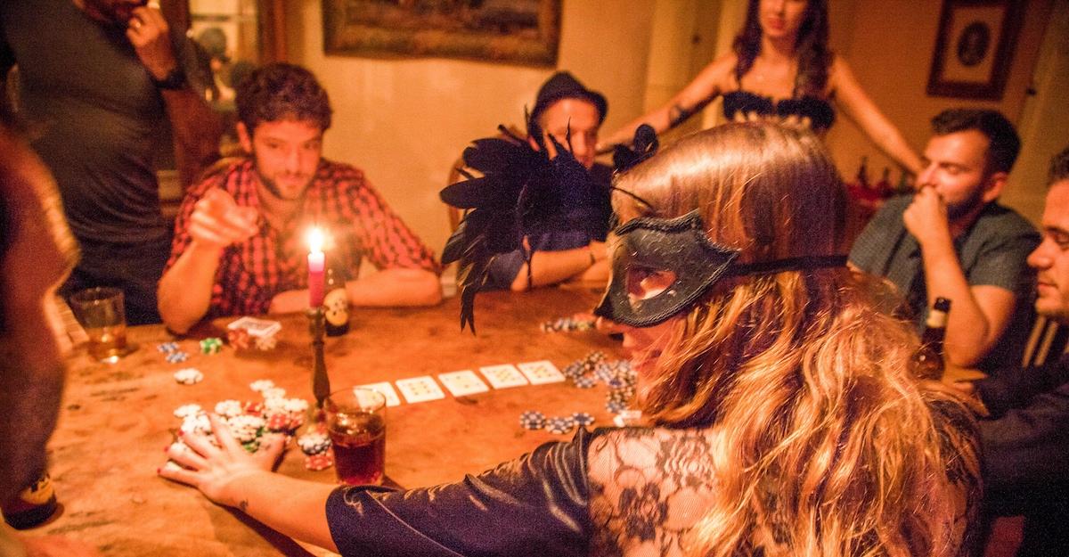 Raunchy Poker Night, Barcelona