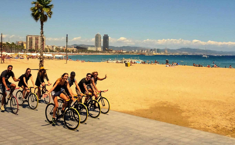 Tour of Barcelona by Bike