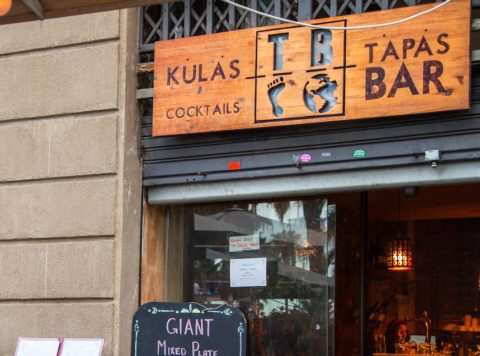 Tapas Meal, Barcelona