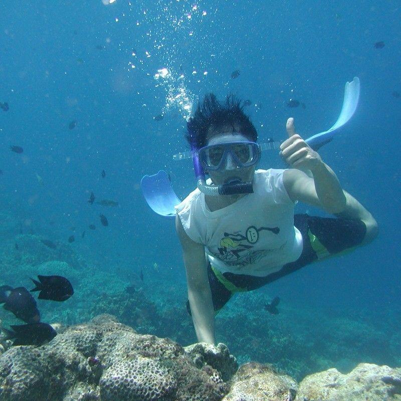 Kayaking and Snorkelling