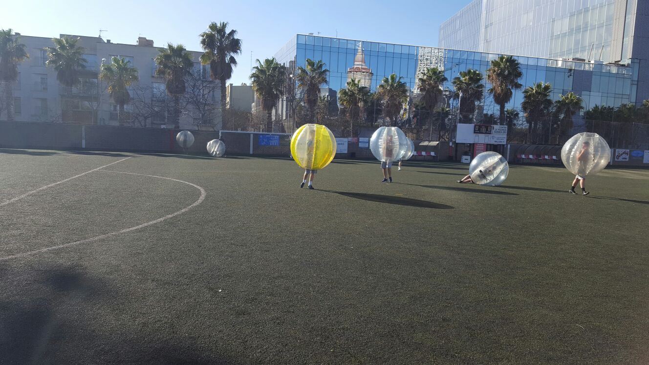Bubble Football, Barcelona