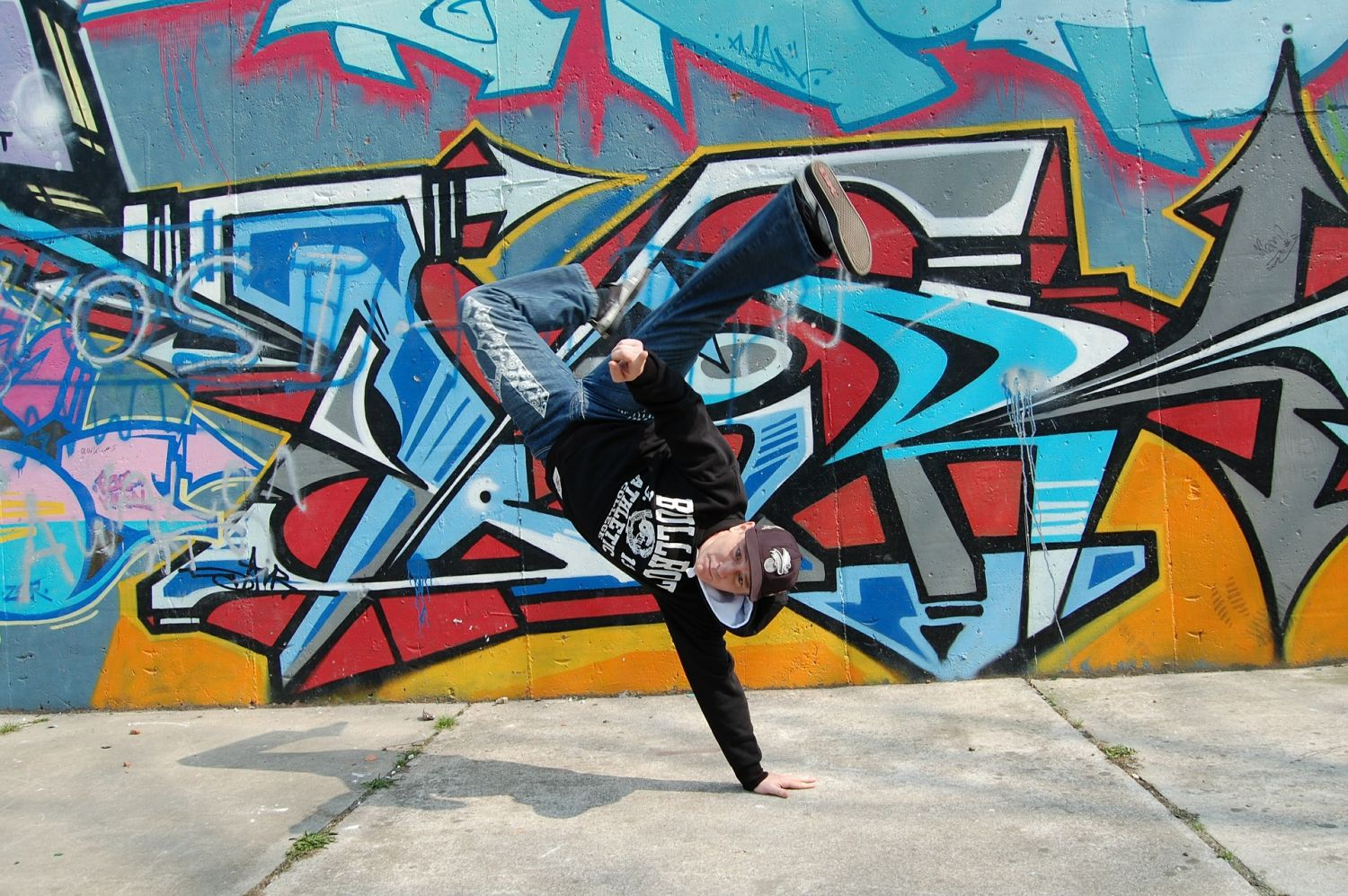Break Dance Class, Barcelona