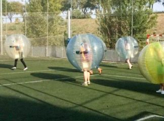 Bubble Football Travel Bar