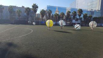 Bubble Football Travel Bar