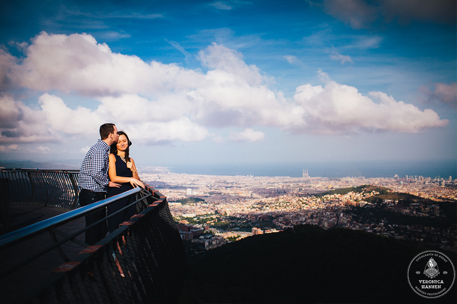 Tibidabo Proposal, Veronica Hansen Photography